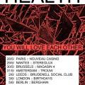 HEALTH Reveal June UK + European Tour