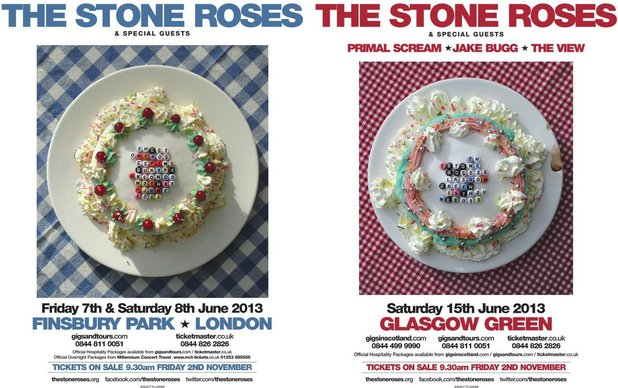 The Stone Roses - Finsbury Park