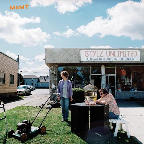 MGMT Reveal Self-Titled Album Artwork