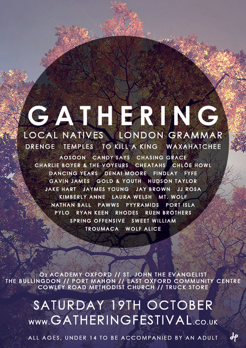 Gathering Line up 2013